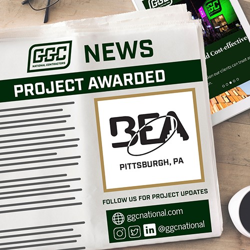 Project Awarded - BEA - Pittsburgh, PA